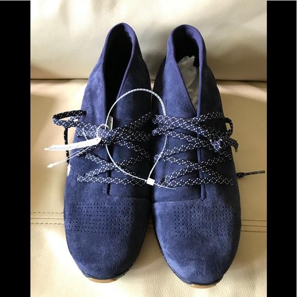 1ebbec9da UNDER ARMOUR MENS 10.5 Navy Blue Suede Leather
